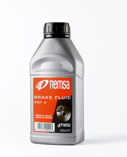 Brake Fluid (Dot  4) 5 Litres